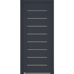Дверь Elit Plus 112 ПВХ ПГ антрацит