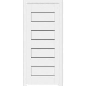 Дверь Elit Plus 112 ПВХ ПГ белый
